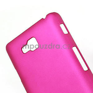Pogumované  pouzdro pro LG Optimus L9 II D605- růžové - 4