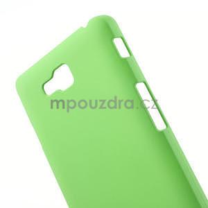 Pogumované  pouzdro pro LG Optimus L9 II D605- zelené - 4