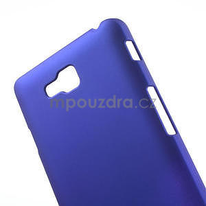 Pogumované  pouzdro pro LG Optimus L9 II D605- modré - 4