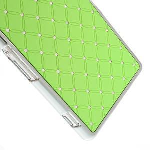 Drahokamové pouzdro na Sony Xperia Z2 D6503- zelené - 4