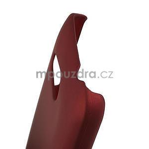 Pogumované pouzdro pro HTC Desire 200- červené - 4