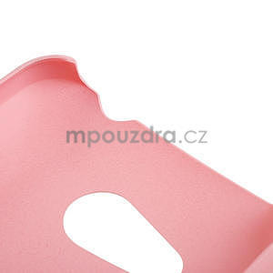 Pogumované pouzdro pro HTC Desire 200- světlerůžové - 4