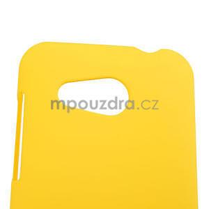 Pogumované pouzdro pro HTC Desire 200- žluté - 4