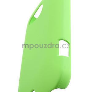 Pogumované pouzdro pro HTC Desire 200- zelené - 4