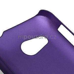 Pogumované pouzdro pro HTC Desire 200-fialové - 4