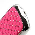 Drahokamové pouzdro pro Samsung Galaxy S3 mini i8190- světle-růžové - 4/4