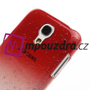 Plastové minerální pouzdro pro Samsung Galaxy S4 mini i9190- červené - 4