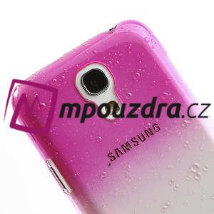 Plastové minerální pouzdro pro Samsung Galaxy S4 mini i9190- růžové - 4