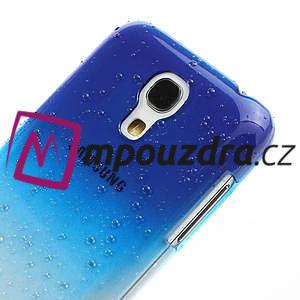 Plastové minerální pouzdro pro Samsung Galaxy S4 mini i9190- modré - 4