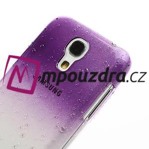 Plastové minerální pouzdro pro Samsung Galaxy S4 mini i9190- fialové - 4