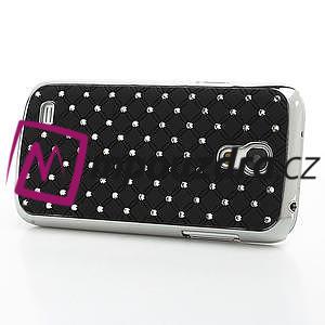 Drahokamové pouzdro pro Samsung Galaxy S4 mini i9190- černé - 4