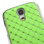 Drahokamové pouzdro pro Samsung Galaxy S4 mini i9190- zelené - 4/5