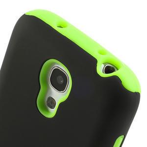 Hybridní pouzdro na Samsung Galaxy S4 mini i9190- zelené - 4