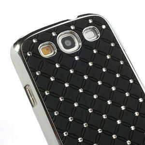 Drahokamové pouzdro pro Samsung Galaxy S3 i9300 - černé - 4