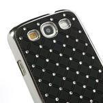 Drahokamové pouzdro pro Samsung Galaxy S3 i9300 - černé - 4/5