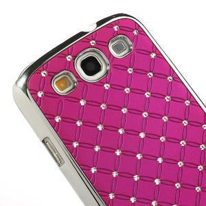 Drahokamové pouzdro pro Samsung Galaxy S3 i9300 - řůžové - 4