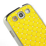 Drahokamové pouzdro pro Samsung Galaxy S3 i9300 - žlutá - 4/5