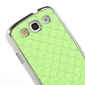 Drahokamové pouzdro pro Samsung Galaxy S3 i9300 - zelené - 4