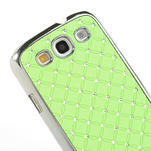 Drahokamové pouzdro pro Samsung Galaxy S3 i9300 - zelené - 4/5