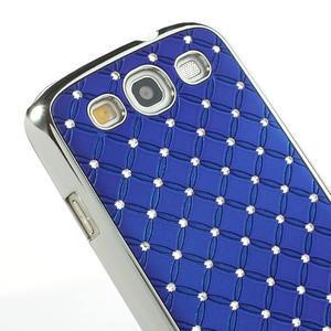 Drahokamové pro Samsung Galaxy S3 i9300 - modré - 4