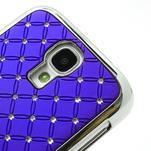 Drahokamové pouzdro pro Samsung Galaxy S4 i9500- modré - 4/7