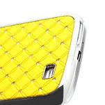 Drahokamové pouzdro pro Samsung Galaxy S4 i9500- žlutá - 4/6