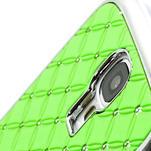 Drahokamové pouzdro pro Samsung Galaxy S4 i9500-zelené - 4/6