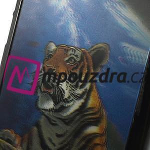 Hard Case 3D pouzdro na Xiaomi Mi3- tygr - 4
