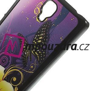 Hard Case 3D pouzdro na Xiaomi Mi3- motýlci - 4