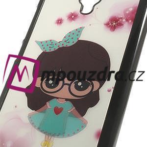 Hard Case 3D pouzdro na Xiaomi Mi3- dívka v šatech - 4