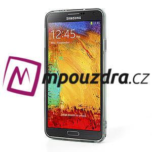 Gelové hybrid pouzdro na Samsung Galaxy Note 3- šedé - 4