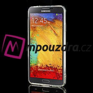 Gelové hybrid pouzdro na Samsung Galaxy Note 3- transparentní - 4