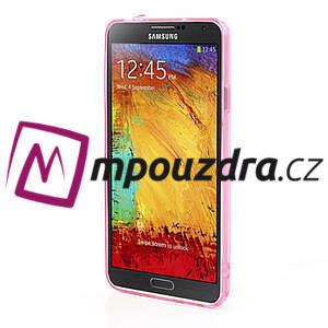 Gelové hybrid pouzdro na Samsung Galaxy Note 3- růžové - 4