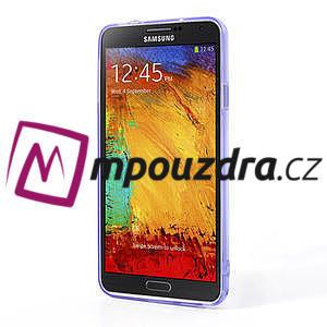 Gelové hybrid pouzdro na Samsung Galaxy Note 3- fialové - 4