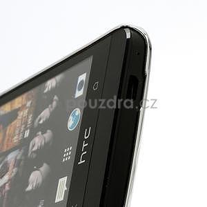 Drahokamové pouzdro pro HTC one M7- bílé - 4