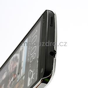 Drahokamové pouzdro pro HTC one M7- světlemodré - 4