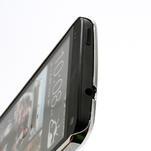 Drahokamové pouzdro pro HTC one M7- modré - 4/6