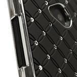 Drahokamové pouzdro pro HTC one M7- černé - 4/7