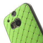 Drahokamové pouzdro pro HTC one M8- zelené - 4/6