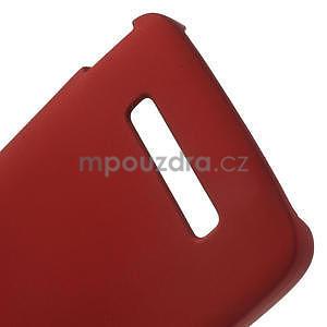 Hard Case pouzdro na Alcatel One Idol Alpha 6032 A - červené - 4