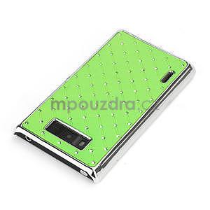 Drahokamové pouzdro pro LG Optimus L7 P700- zelené - 4