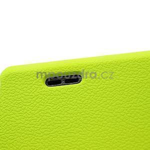 Texturované pouzdro pro LG Optimus L7 P700- zelené - 4