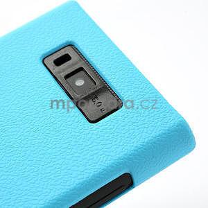 Texturované pouzdro pro LG Optimus L7 P700- modré - 4