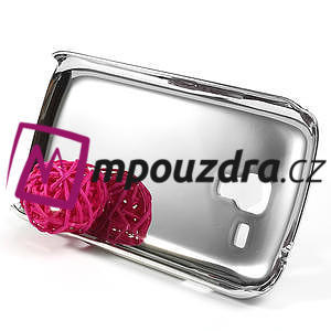 Drahokamové pouzdro pro Samsung Trend plus, S duos- fialové - 4