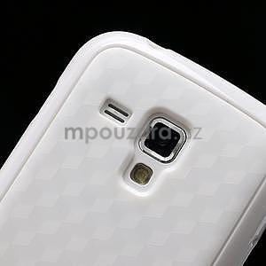 Plastogelové pouzdro na Samsung Galaxy Trend, Duos- bílé - 4