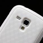 Plastogelové pouzdro na Samsung Galaxy Trend, Duos- bílé - 4/5