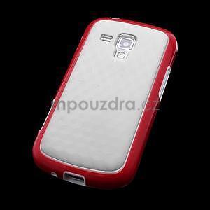 Plastogelové pouzdro na Samsung Galaxy Trend, Duos- červené - 4
