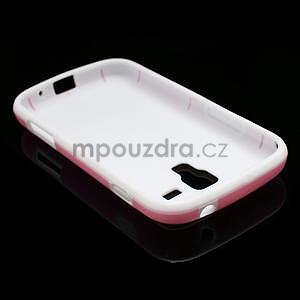 Plastogelové pouzdro na Samsung Galaxy Trend, Duos- růžové - 4