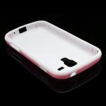 Plastogelové pouzdro na Samsung Galaxy Trend, Duos- růžové - 4/5
