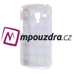 Plastové pouzdro na Samsung Trend plus, S duos - multi sovičky - 4